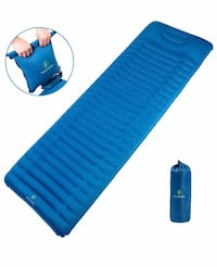 Brand new Camping Sleeping Pad with Pillow,Foldable Inflatable Air Pad