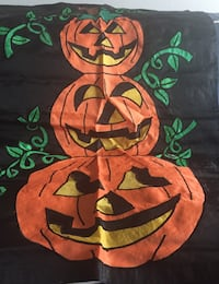 Halloween Decoration tiered pumpkin flag - no post  Alexandria, 22041