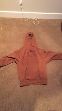 Brown champion hoodie size L 10/10 condition  Vancouver, V6R 2T9