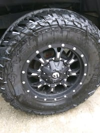33x12.50x17 fuel tires and fuel Universal wheels Ladson, 29456