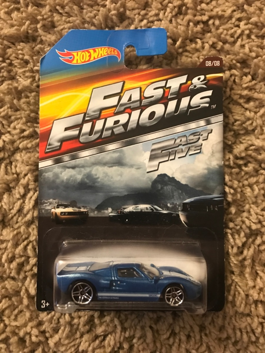 Fast and furious hot wheels, $5 a piece - Capitol