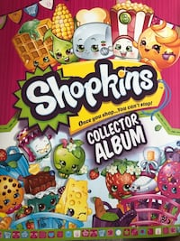 Shopkins card collector album