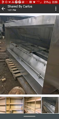 Used stainless Aqua-matic systems hood only Portland, 97216
