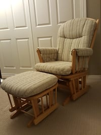 Glider/Rocking Chair with Rocking Ottoman for Sale