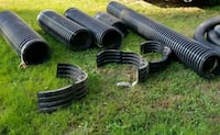 """24ft. Corrugated double-walled 12""""Diameter pipe Candler, 28715"""