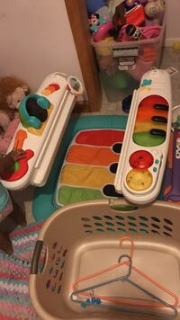 toddler's white, red, and yellow piano gym Biloxi, 39532