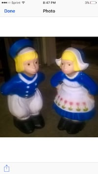 "20"" cement outdoor Dutch Boy and Girl Lexington, 40515"