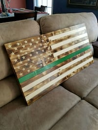 Specialty American wood flag  Columbia, 29212