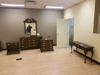 2 American Cherry Bedroom Sets Airdrie, T4B 0H1