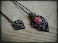 Macrame Necklace null