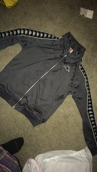 black and white Adidas track pants London
