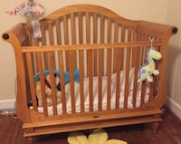 Baby's brown wooden crib Port Tobacco, 20677