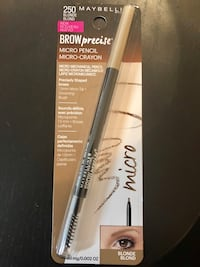 Maybelline Brow Precise Eyebrow Pencil Blonde - Brand new Toronto, M5V 3S8