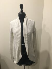 Icey grey cardigan size small