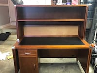 Large Wooden Desk Falls Church