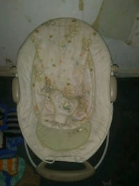 baby's white and gray bouncer Jamestown, 14701