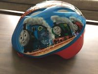 blue and red Thomas the Train bed frame Bethesda, 20814