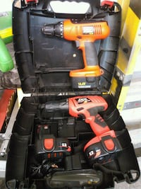 2 power drills 3 batteries no chargers $50 544 km