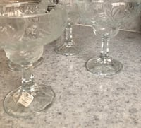 Princess House Margarita Glasses Los Angeles, 90008