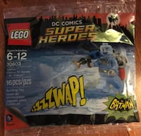 sealed LEGO super heroes classic Mr.Freeze polybag VANCOUVER