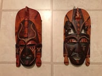 Wooden African Masks Tampa, 33611