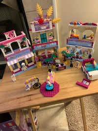 LEGO friends kit 41058 heart lake shopping mall Madison, 35758