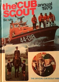 The Cub Scout Annual 1979 In good condition.  Pick Newmarket, L3Y 3J3