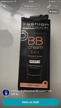 Fashion Professional BB Cream box Malmø, 214 54