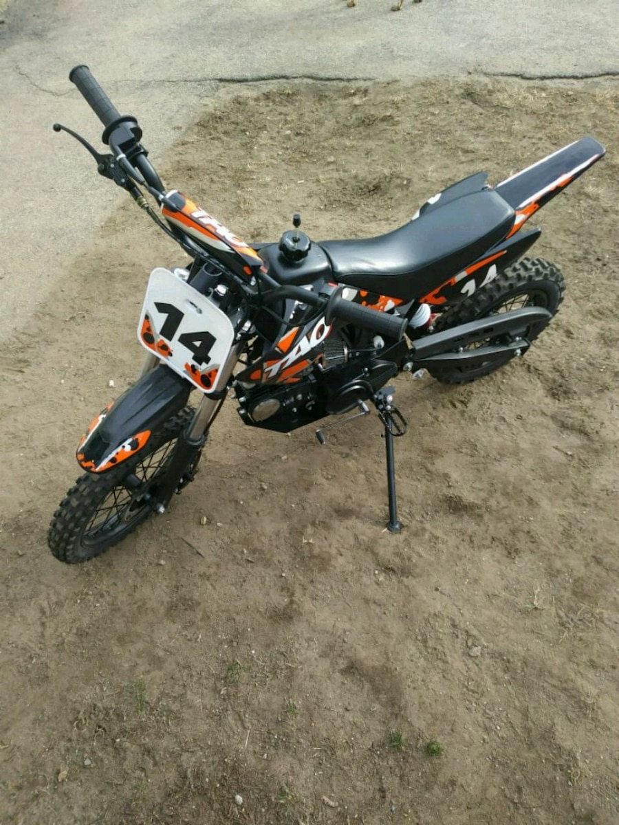 Photo Tao pit bike semi-auto 4 stroke