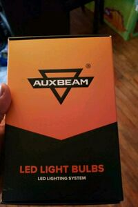 Brand new led auxbeam lights