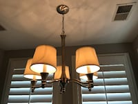 Chandelier-Brushed Nickel-Dimmable 23w x 32h - $35 Washington