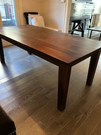 rectangular brown wooden dining table 539 km