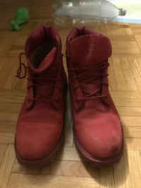 Red woman's tims