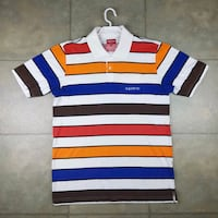 Supreme multi color polo Halton Hills