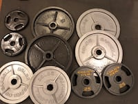 320LBS Olympic Weight Plates