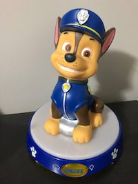 Paw Patrol Talking Chase Night Light Delta, V4E 2Z5