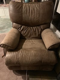 La-Z-boy recliner Italian leather Gresham, 97030