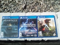 3 Sony PS4 games new in cases VANCOUVER