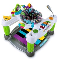 baby's white and blue activity center Rockville, 20850