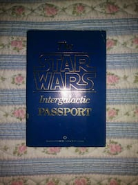 Vintage(1983) The Star Wars Intergalactic Passport(1st Edition)