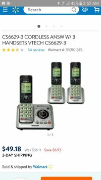 Cordless home phone system
