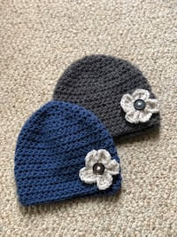 Crocheted beanie for baby/toddler