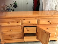 Dresser 9 drawers  so spacious and easy to store clothes  Los Angeles, 91401