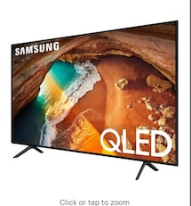 "TV 82"" NEW 4K QLED SAMSUNG"