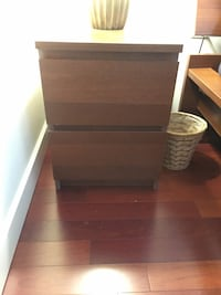 Hopen / Malm night stand