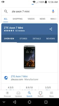 Unlocked zte axon mini 32gb  Louisville, 40212