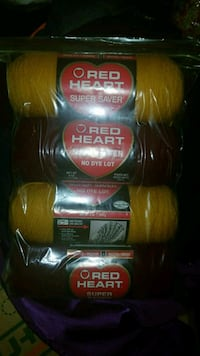 Four assorted yarns 55 km