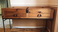 brown wooden 3-drawer chest Gaithersburg, 20878