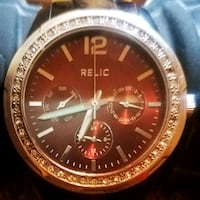 Relic watch with tortoise shell band Fresno, 93705