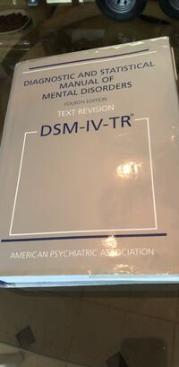 Diagnostic And Statistical Manual Of Mental Disorders 4th Edition TEXT REVISION - American Psychiatric Association - Text Book Educational Medical  Farmington Hills, 48336